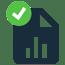 report tick symbol